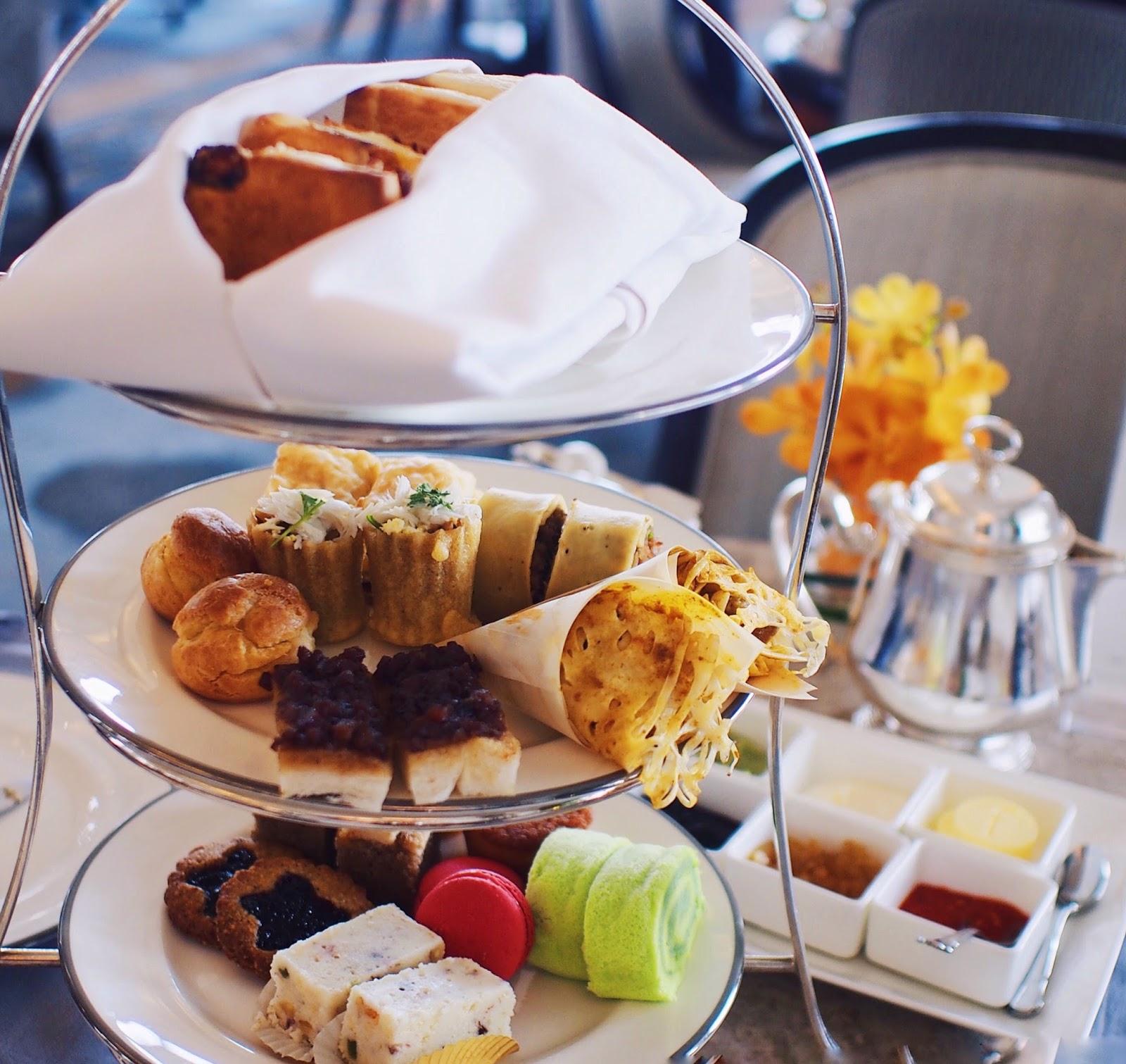 Fullerton Hotel High Tea: Birthday High Tea At Clifford Pier