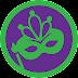 how to UNLOCK Mardi Gras foursquare badge