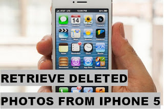 How To Retrieve Deleted Photos From Iphone 5