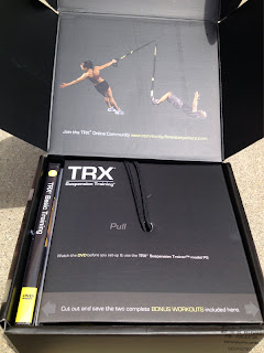 TRX Pro-Pack, Inside. Pull in case of fitness.