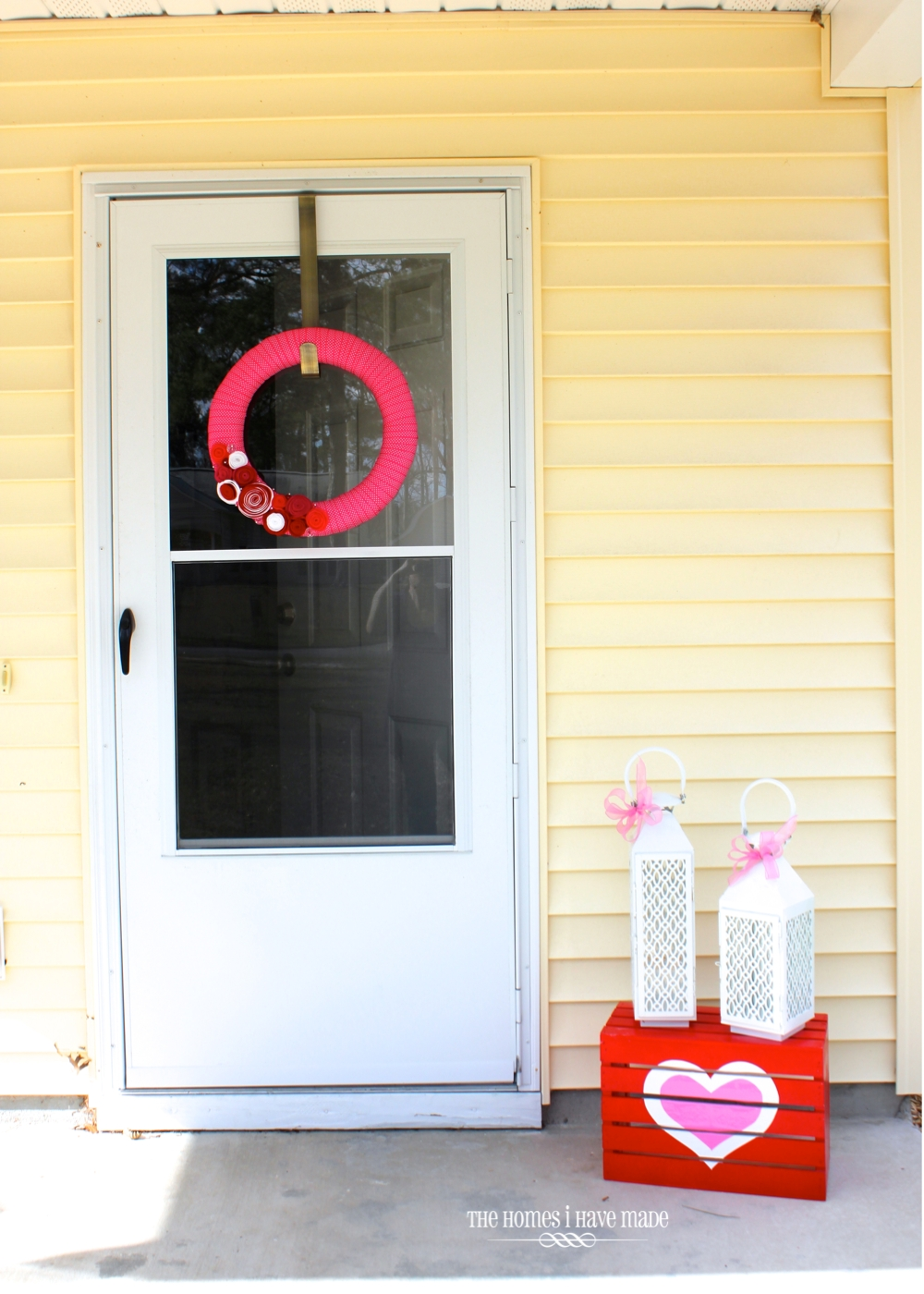 The Homes I Have Made: Valentine's Rosebud Wreath {Valentine's Day ...