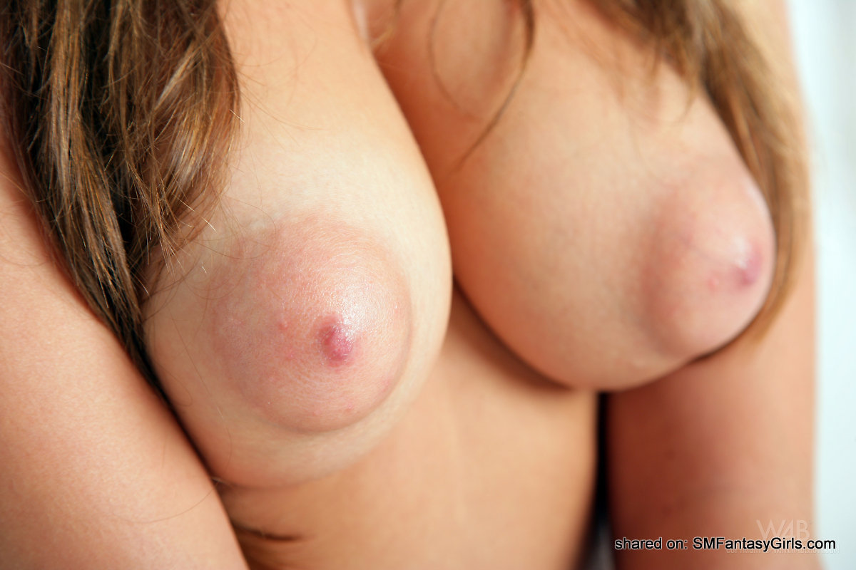 These Big Soft Tits They Look So Amazing Her Juicy Pink Areolas