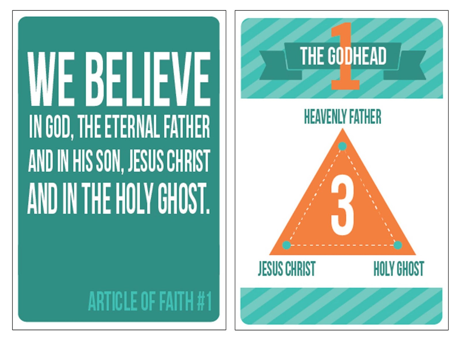 graphic relating to Articles of Faith Printable Cards referred to as LDS Printables Content of Religion Flashcards: a No cost