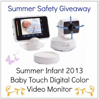 life is a sandcastle sweepstakes summer baby safety color video monitor. Black Bedroom Furniture Sets. Home Design Ideas