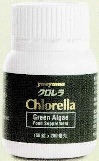 Yaeyama Chlorella Kesehatan metabolisme detoksifikasi