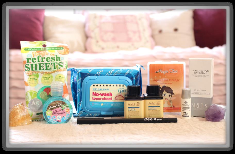겟잇뷰티박스 by 미미박스 memebox beautybox Special #25 Traveler's Beauty Kit unboxing review look inside