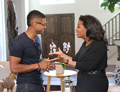 Oprah Interview Usher on OWN