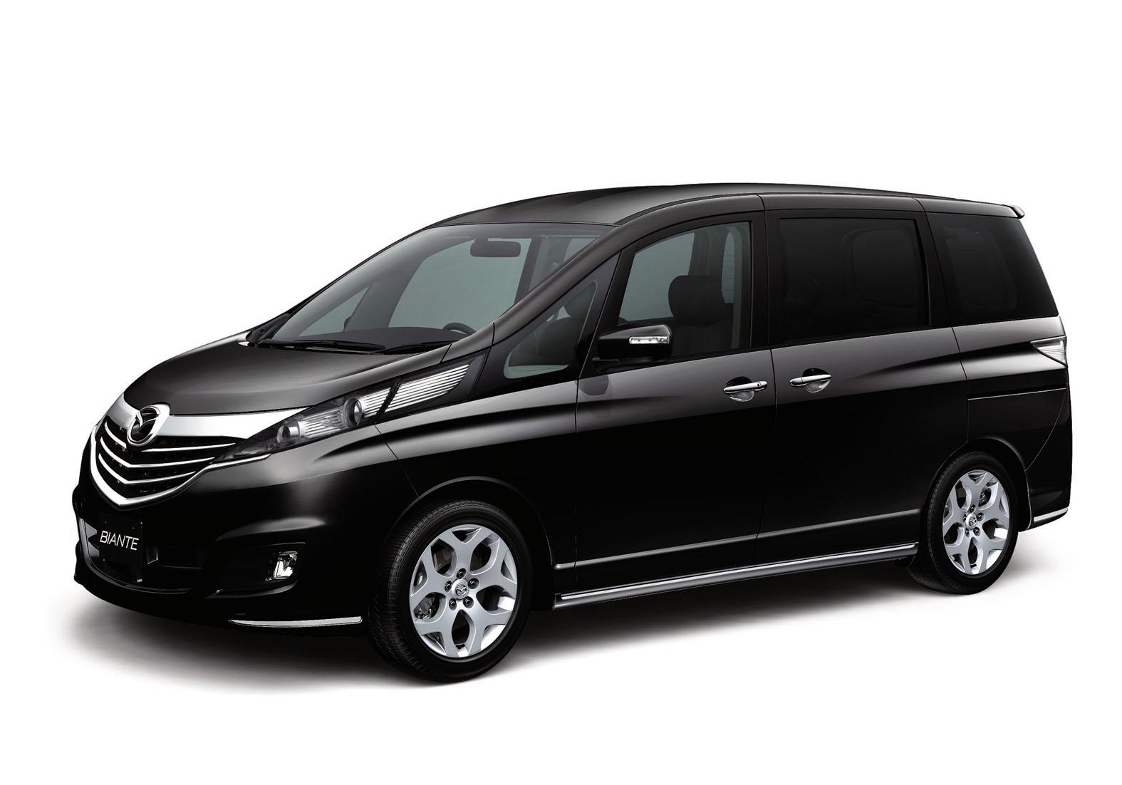 Mazda Releases Special Edition Mazda Biante Granz In Japan