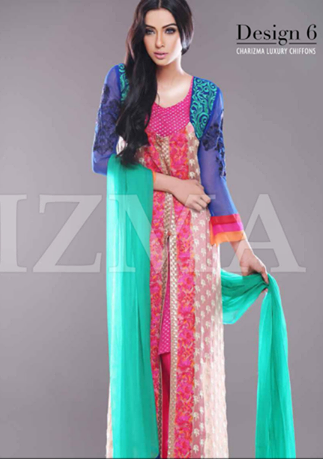 Charizma Chic Chiffon Collection 2014