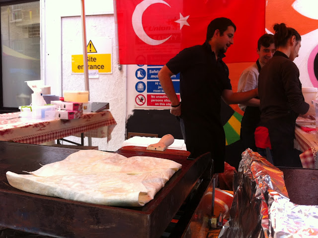 Whitecross+Street+Party+London+Olympics+stall+Turkish+food