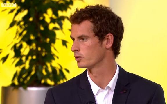 イギリスのテニス アンディ・マレー BBC Get Inspired インタビュー