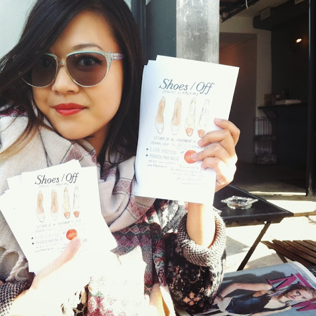 Kitty N. Wong / Shoes / Off flyers