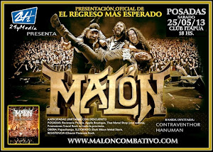 MALON EN POSADAS!! SABADO 25 DE MAYO 2013