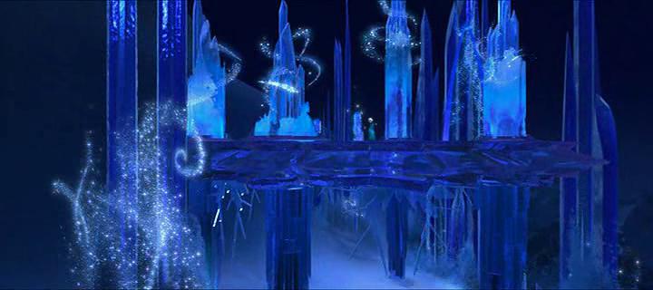 La magie de disney la reine des neiges 2013 for Chateau de glace reine des neiges