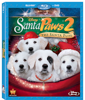 Santa Paws 2 on Blu-ray