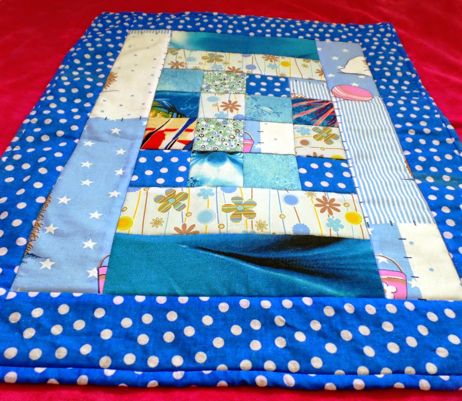 лоскутное одеяло для куклы