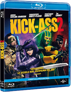 Kick-Ass 2: Con un Par, BDRip, Castellano, 2013