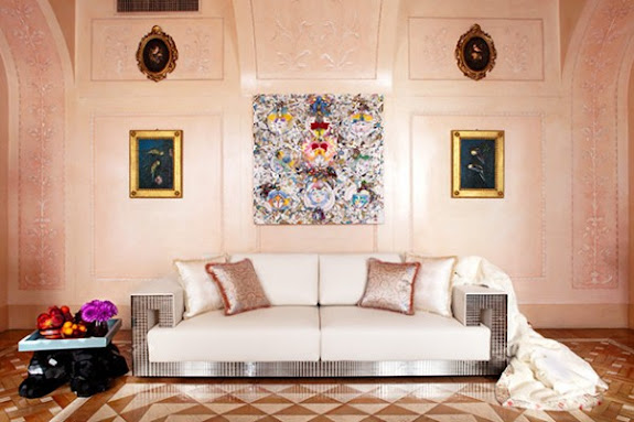 Celebrity Home Photographs by Douglas Friedman: Donatella Versace Home 4