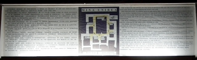 Unirea Salt Mine map and description