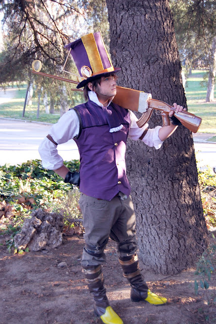 Male Caitlyn Cosplay