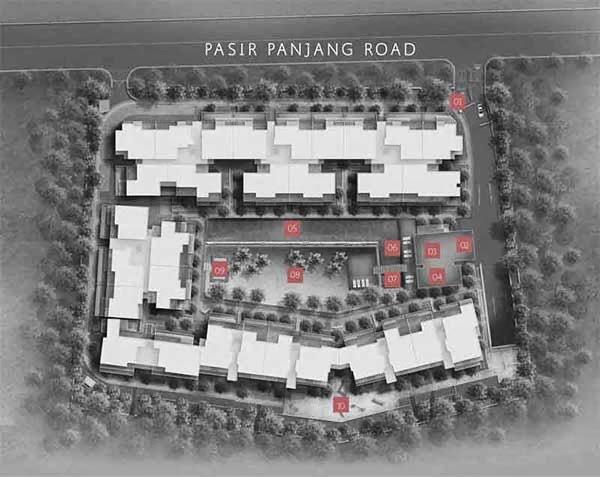 Village @ Pasir Panjang Siteplan