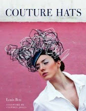 "My Hats And My Atelier in &#39;Couture Hats"" English Version by Louis Bou:"