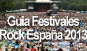 mejores festivales rock España 2013