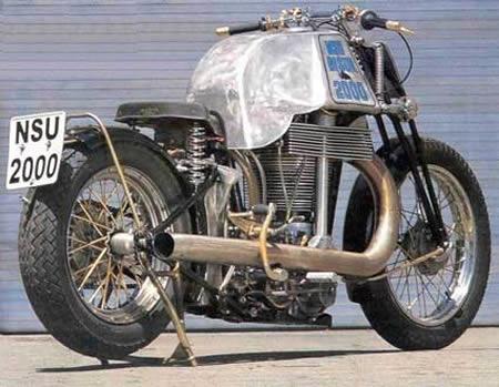 Moto com Maior Motor Monocilíndrico do Mundo