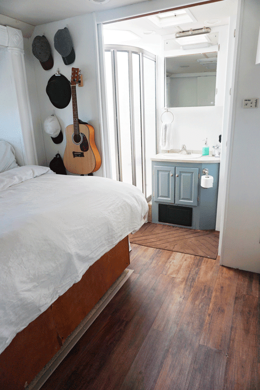 Paint By The Light An Rv Bedroom Redo