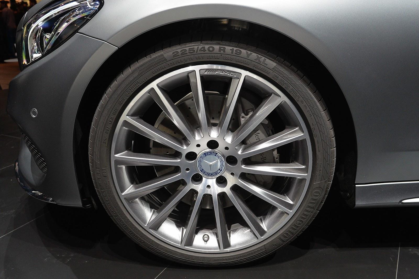 Automotiveblogz mercedes benz c class coupe frankfurt 2015 for 2015 mercedes benz c class coupe