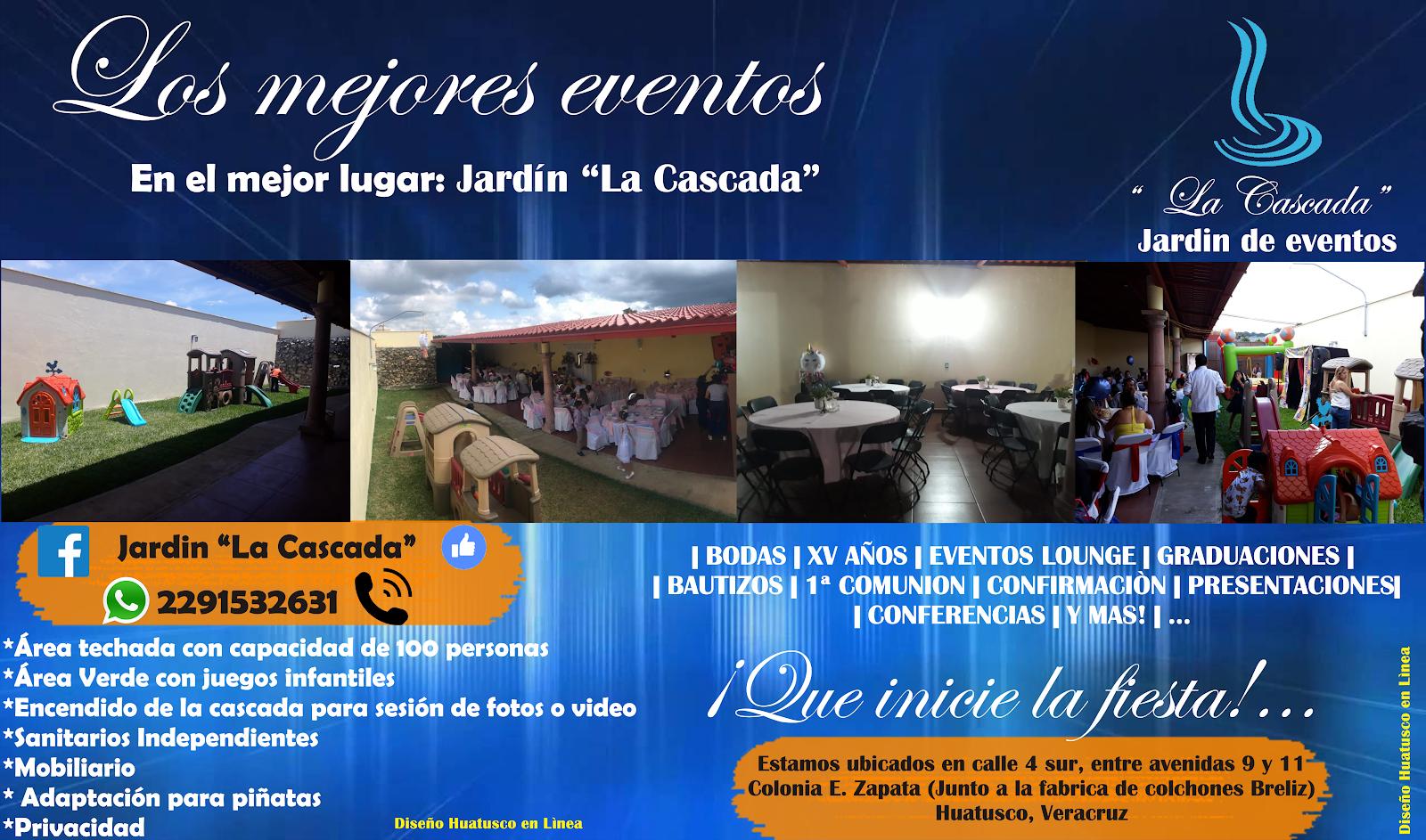 El mejor lugar para tus eventos en Huatusco