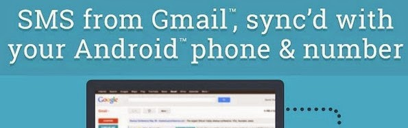 SMS from Gmail Google Chrome extension