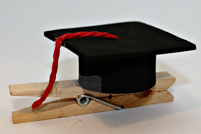 molletta segnaposto laurea