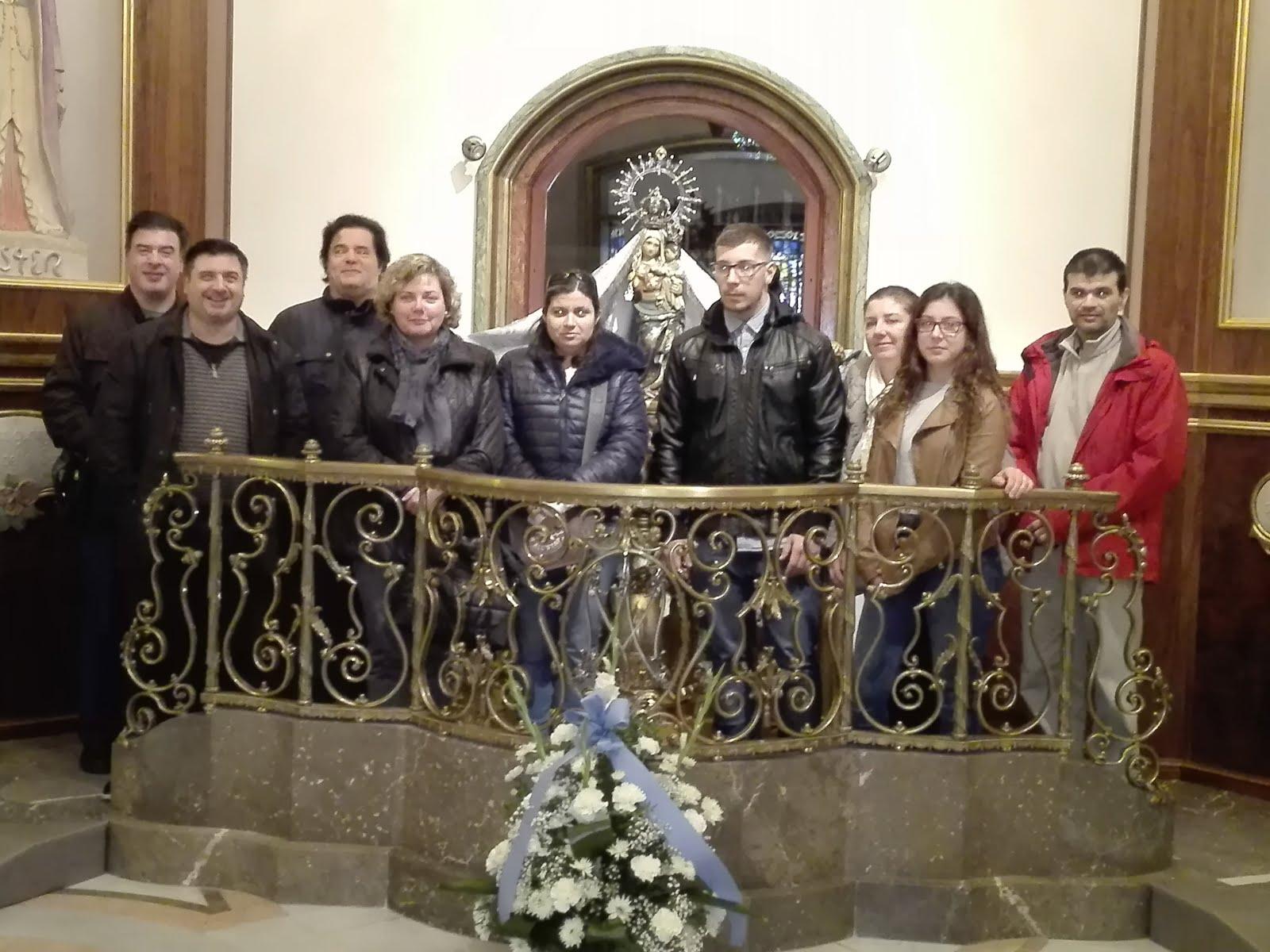 Peregrinació de la Congregació Mariana de Reus