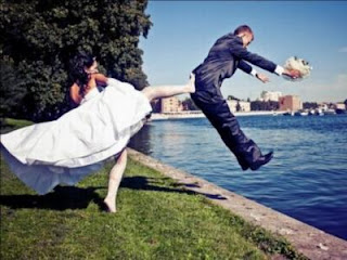 smešna slika venčanje, mladenci