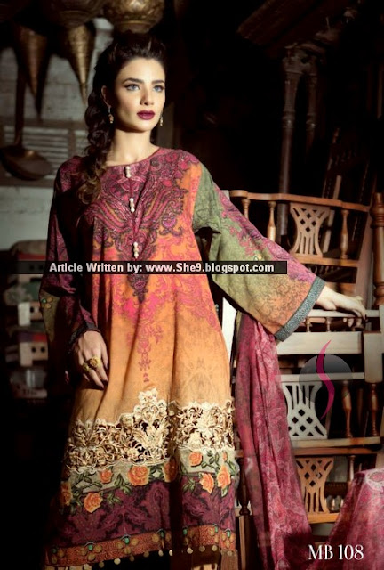 Digital Print Dresses for Eid