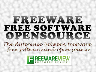 Freeware Reviews - The difference between freeware, free software and open source