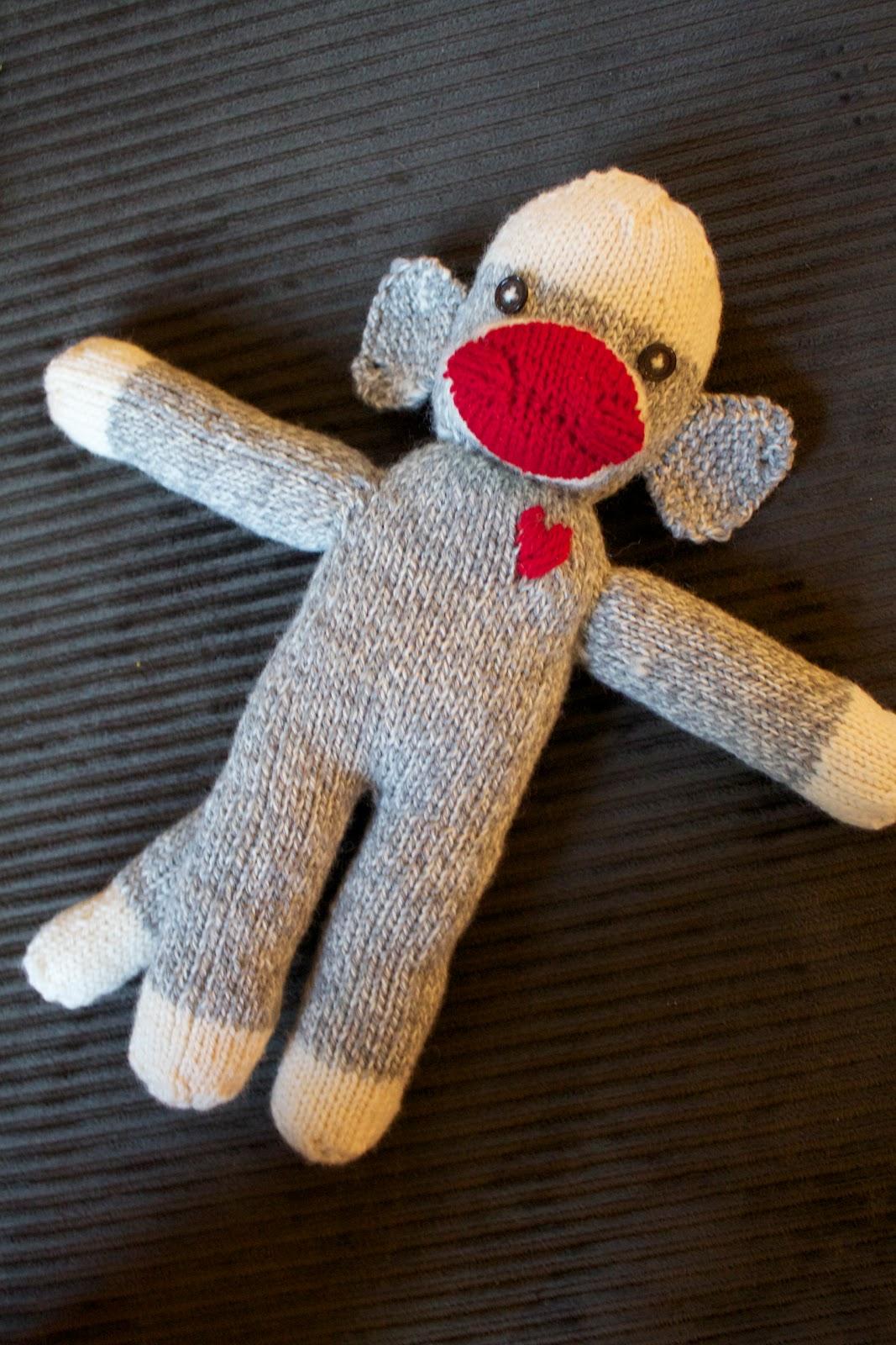 Handmade by Meg K: Sock Monkey Pattern and Tutorial
