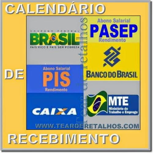 Calendário de Recebimento do PIS e do PASEP