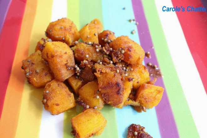 Spiced Eggs with Pumpkin by Carole's Chatter