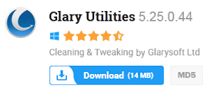 Glary Utilities 5.25.0.44 Free Download Latest Version