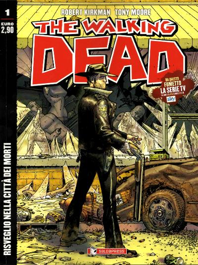 The walking dead fumetto edicola Saldapress