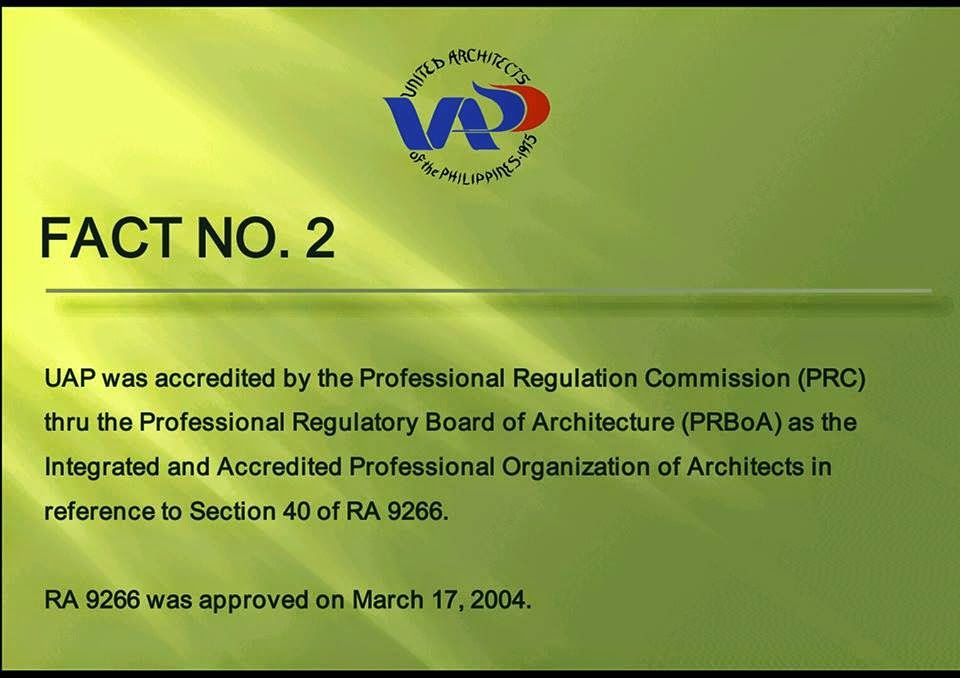 ra 9266 architecture act of 2004 Republic act no 9266 march 17, 2004 the architecture act of 2004  and regulations of national health insurance act of 1995 as amended by ra 9241 republic act.