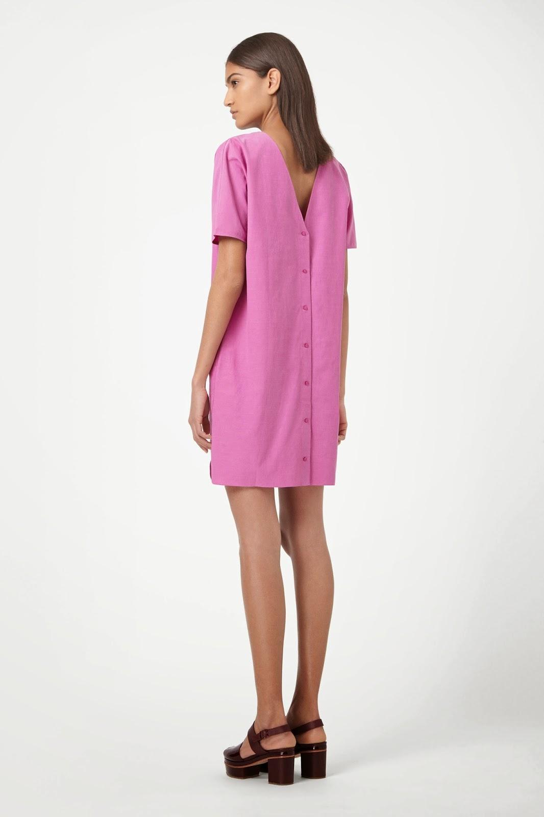 cos pink dress