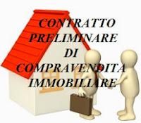 contratto preliminare di compravendita immobiliare