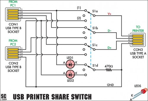 Rotary Switch Circuit Diagram Nilzanet – Rotator Switch Wiring Diagram