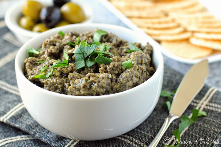 Olive Tapenade {Low-FODMAP}  /  Delicious as it Looks