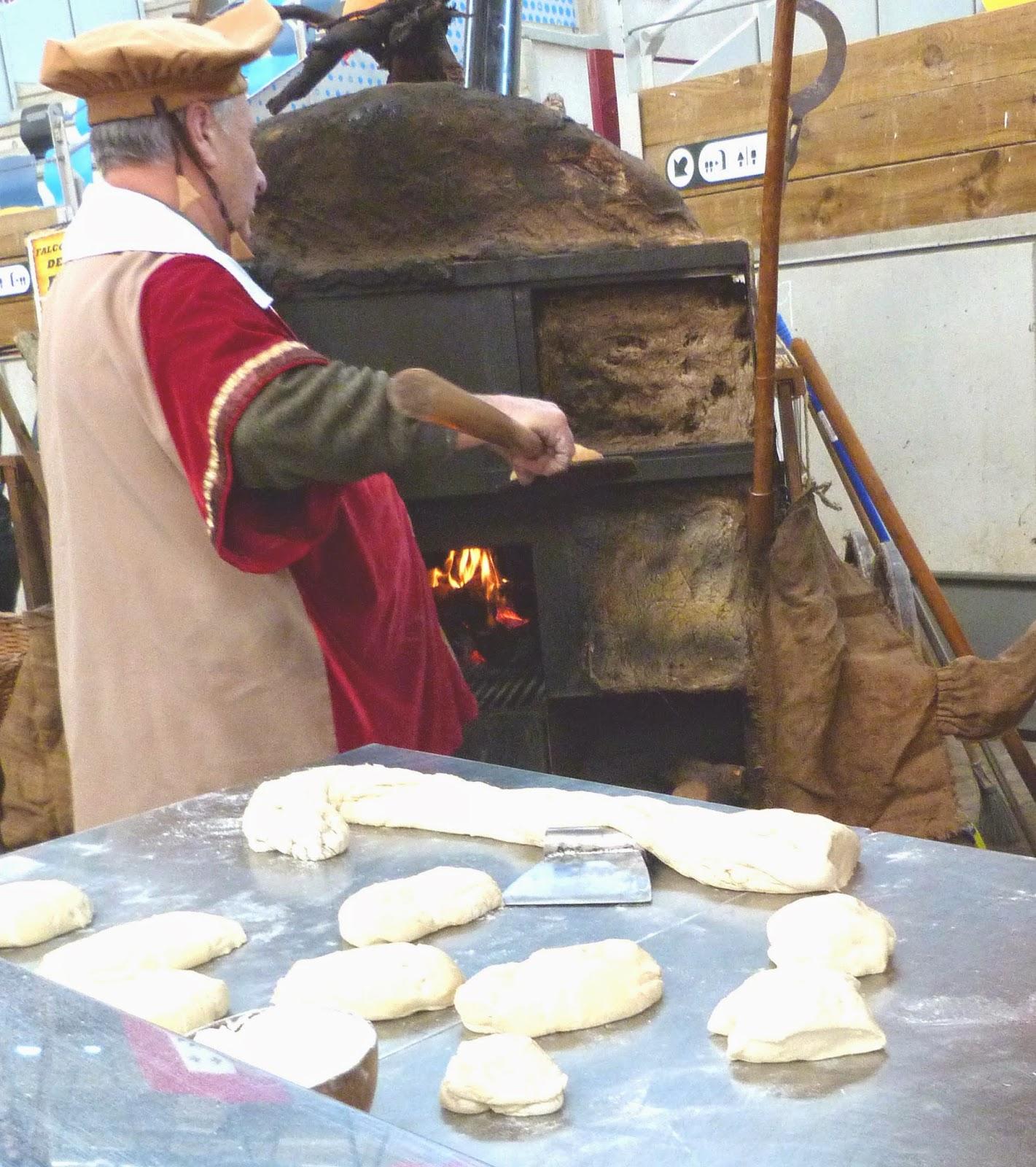 Tarragonain horno de leña