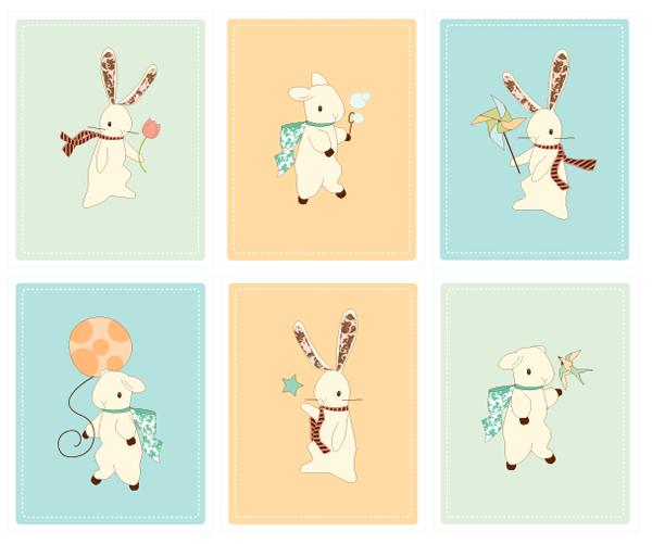 Boho deco chic laminas gratis para habitaci n de beb - Laminas decorativas para imprimir gratis ...