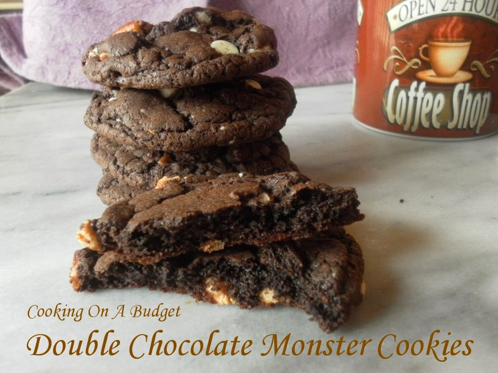 Cooking On A Budget: Double Chocolate Monster Cookies